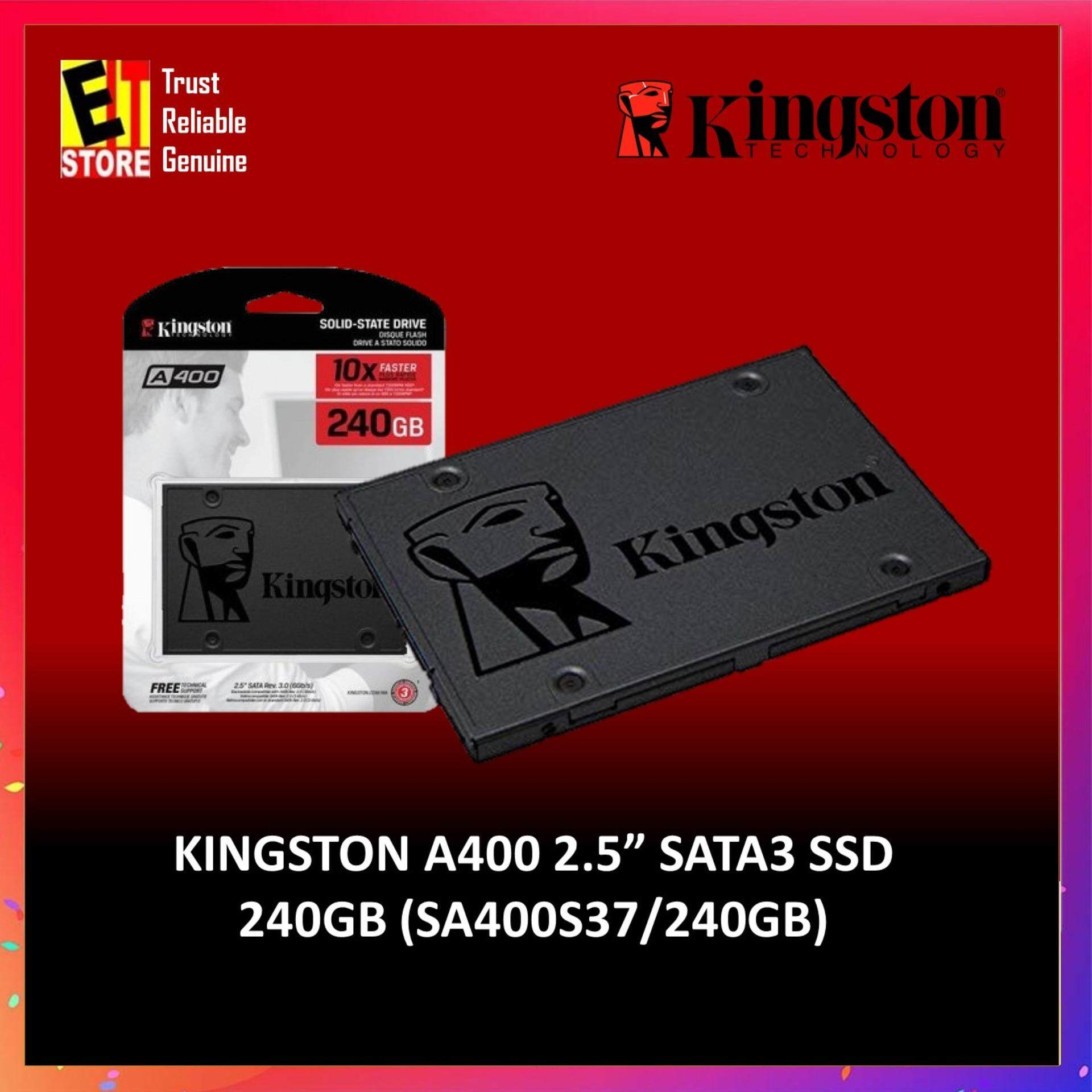 KINGSTON SSD A400 SATA3 2 5'- 240GB (7mm HEIGHT) SA400S37/240G