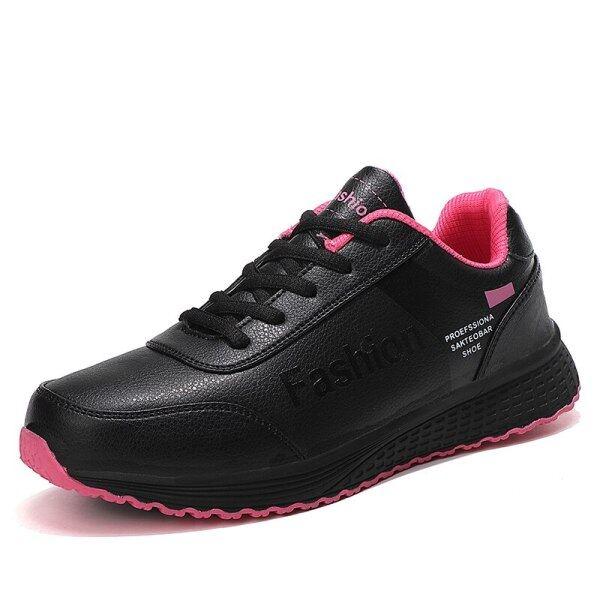 Bảng giá Kích thước 35-42 2020 giày quần vợt thời trang cho phụ nữ da nhẹ Giày thể thao màu đen phòng tập thể dục phụ nữ thể thao giảng viên tenis Feminino giỏ Femme