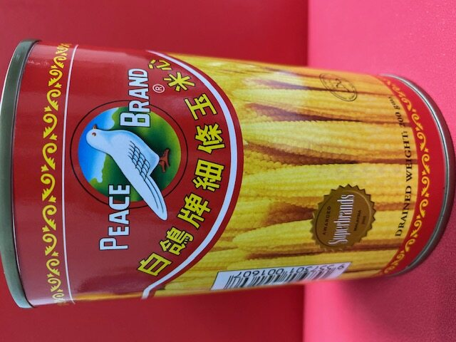 Peace Brand Fancy Grade Golden Baby Corn Small Size 425gm