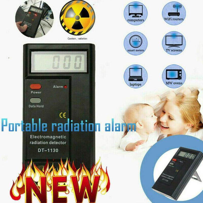 Digital Electromagnetic Electric Radiation Detector Household Office Supplies