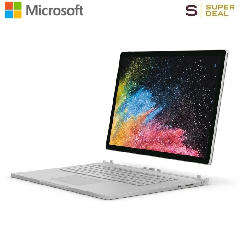 Microsoft 13.5 Surface Book 2 Multi-Touch 2-in-1 Notebook (Silver) Malaysia