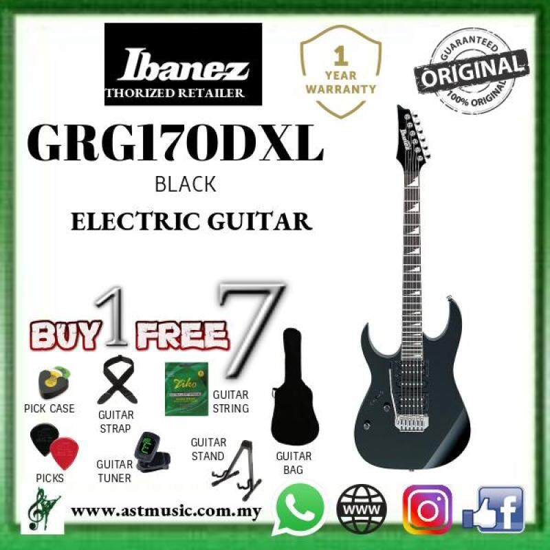Ibanez GRG170DXL Electric Guitar Black Night - SPECIAL PROMO Malaysia