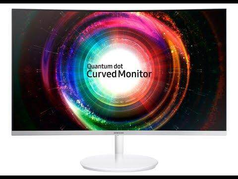 SAMSUNG 27 CURVED MONITOR CH711 NEW SET Malaysia