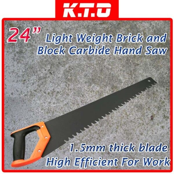 24 LIGHT WEIGHT BLOCK HAND SAW STONE CUTTER CONCRETE SAW