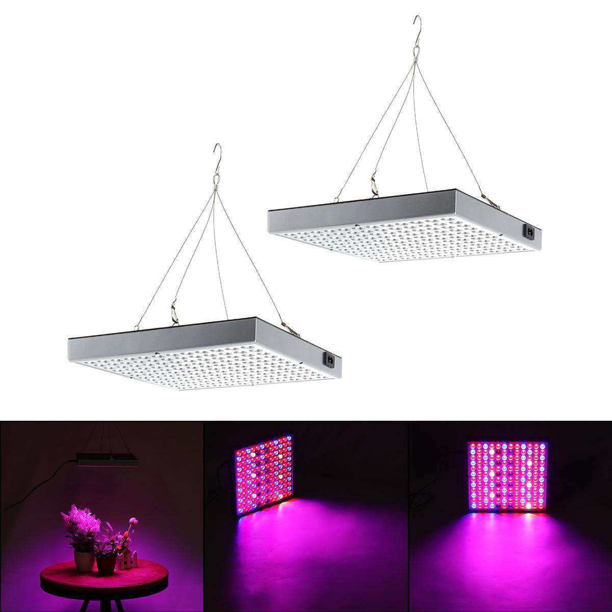 45W 144LED Plant Grow Light Lamp Full Spectrum For Flower Seed Greenhouse Indoor