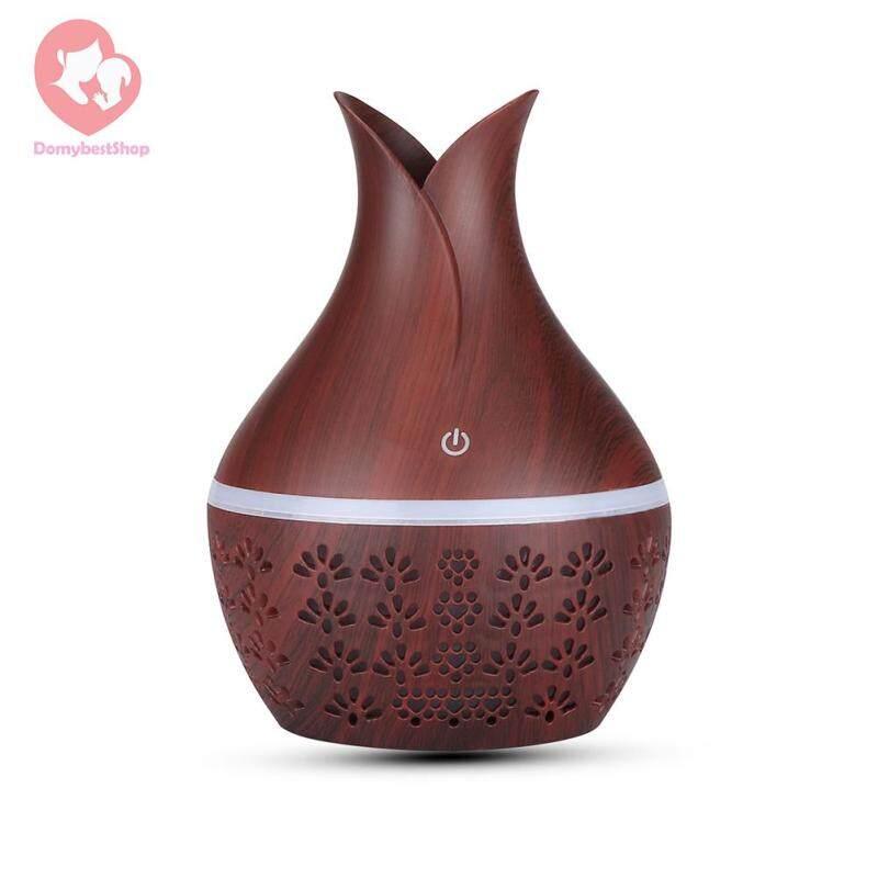 300ml Hollow Aromatherapy Humidifier Dampener Essential Oil Diffuser Machine Essential Oil Diffuser Singapore