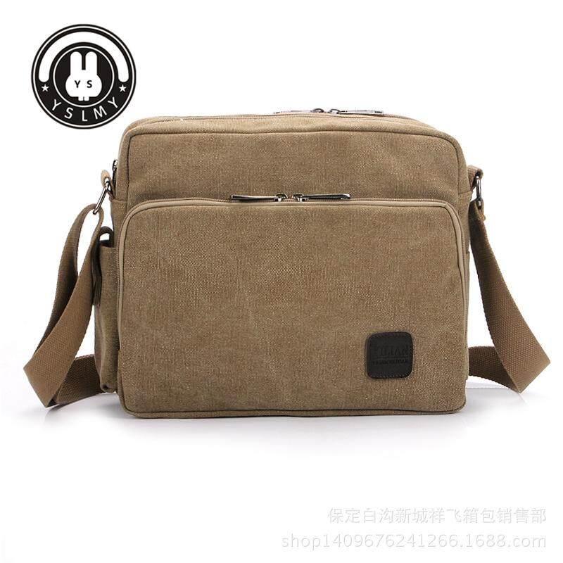 242136e31 YSLMY High Quality Multifunction Men Canvas Bag Casual Travel Bolsa  Masculina Men's Crossbody Bag Men Messenger