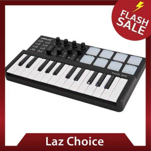 Worlde Panda 25-Key USB Keyboard and Drum Pad MIDI Controller Malaysia