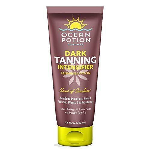 Ocean Potion Dark Tanning Intensifier Lotion, Indoor and Outdoor Bronzer, 6.8 Ounces, Pack of 1