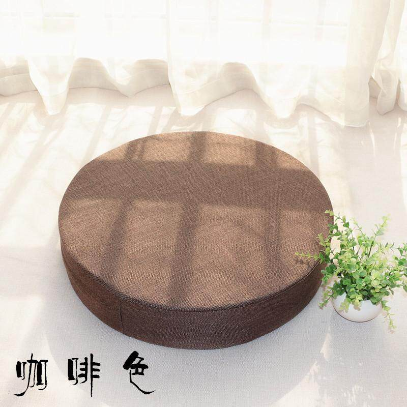 Flax Futon Cushion Washable Floor Thick Household Tea Ceremony Japanese Style Tatami Mat Fabric Extra High Butt Pad