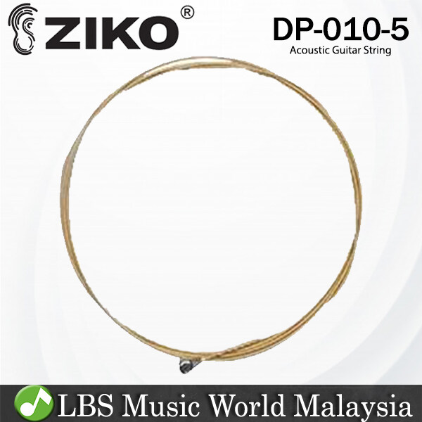 Ziko DP-010 Acoustic Guitar 5th Loose String Phosphor Bronze Extra Light Great Bright Tone Malaysia