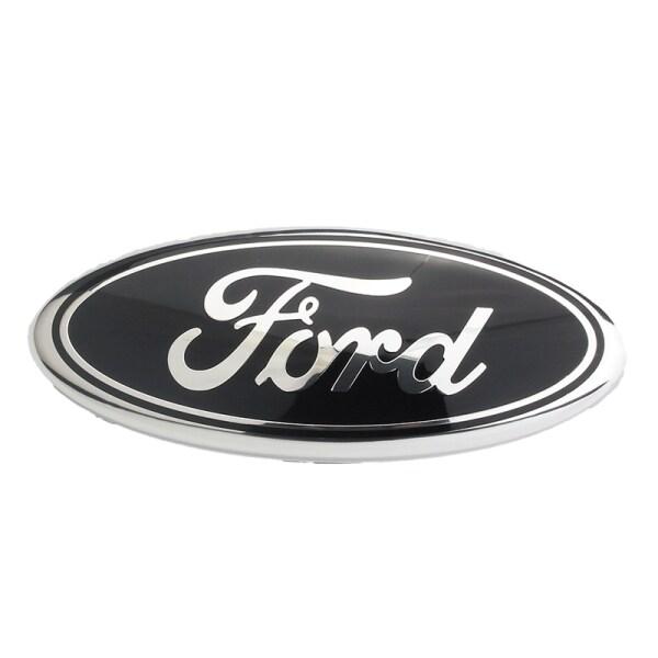 Miếng Dán Biểu Tượng Phía Sau 17.5X7Cm, Dành Cho Ford F150 F250 Escape Everest Edge Explorer Logo Cốp Sau Xe Ô Tô Huy Hiệu Màu Đen