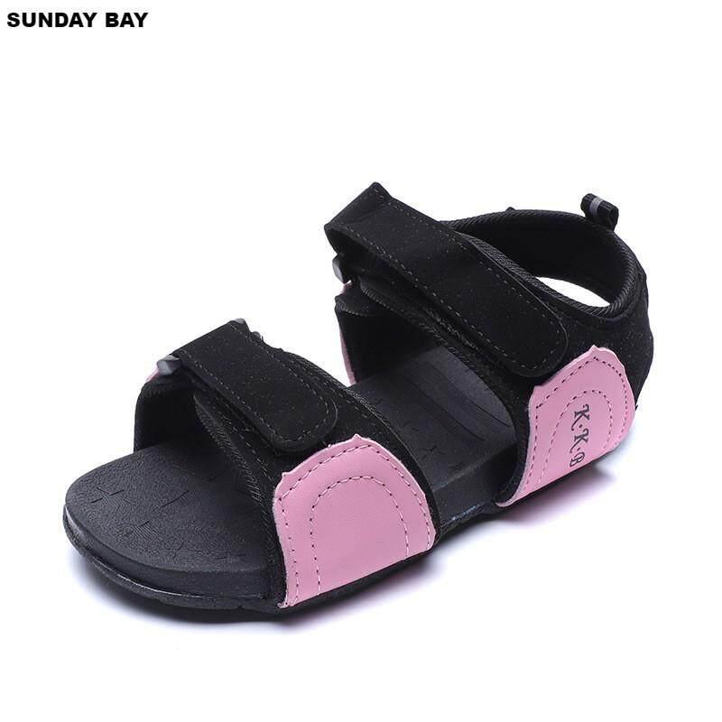 Giá bán Mùa Hè mới Giày Sandal Boyshoes Giày Trẻ Em Trẻ Sơ Sinh Giày Girlshoes Giày Đi Biển Hàn Quốc Cổ Điển Thời Trang