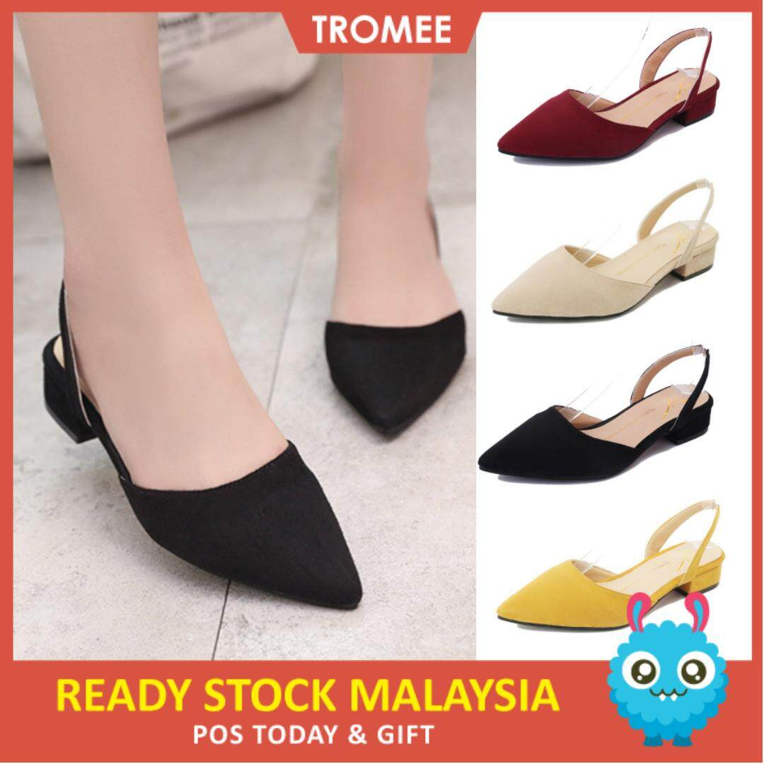 Tromee 816 Cozumy Heels Loafer Woman Fashion Style Shoes (ready Stock) By Tromee.