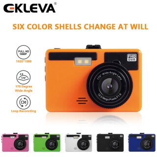 EKLEVA Camera Hành Trình 3 Inch Camera DVR Cho Xe Ô Tô Camera Hành Trình Góc Rộng Full HD 1080P Máy Ghi Hình Tự Động, Nhiều Màu Sắc thumbnail