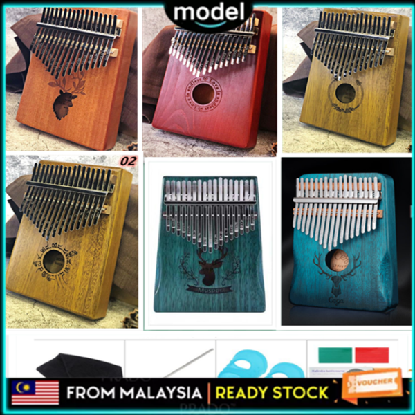 【Warranty 1 Year】 Portable Kalimba 拇指琴 Thumb Piano 17 Key Finger Piano Kalimba Instrument Malaysia