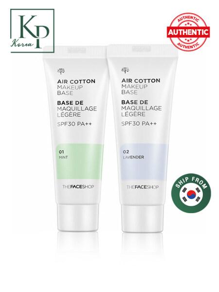Kem nền chống nắng THE FACE SHOP Air Cotton Makeup Base Primer SPF30 PA++