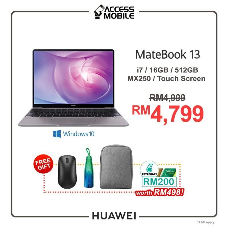 HUAWEI MateBook 13 New Model 2020 !!! Malaysia