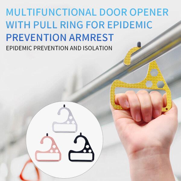 4Pcs Pintu Pembuka Pintu Tanpa Hubungan Keselamatan Pintu Pembuka Pintu Bukan Hubungi Lif Akhbar Stick Butang Alat Penolak Alat
