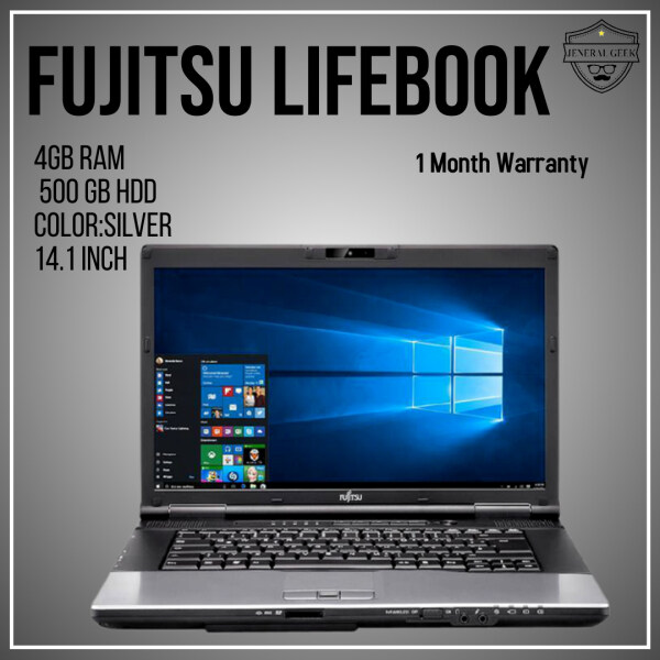 (Gaming) 🔥 Fujitsu intel Core i5 3th Gen 4GB RAM 500 GB HDD-W10pro Laptop Malaysia