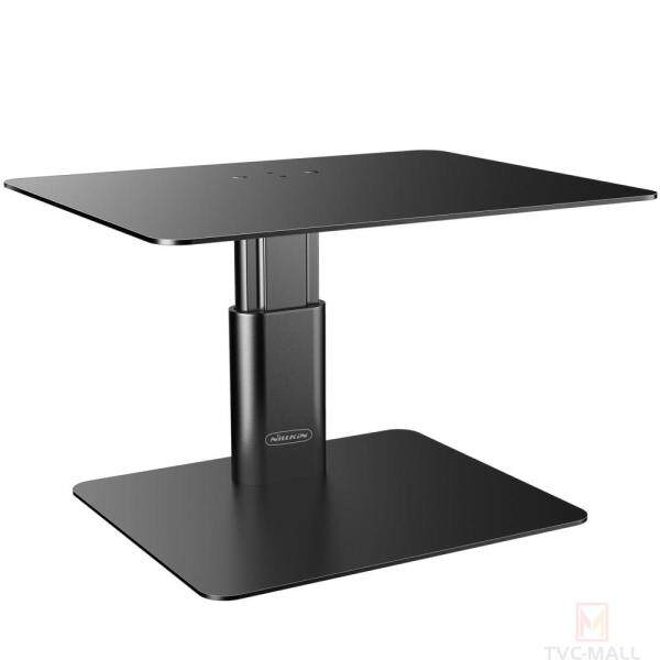 TVC-MALL Non-slip Height Adjustable Monitor Riser Desktop Stand for Laptop PC Computer