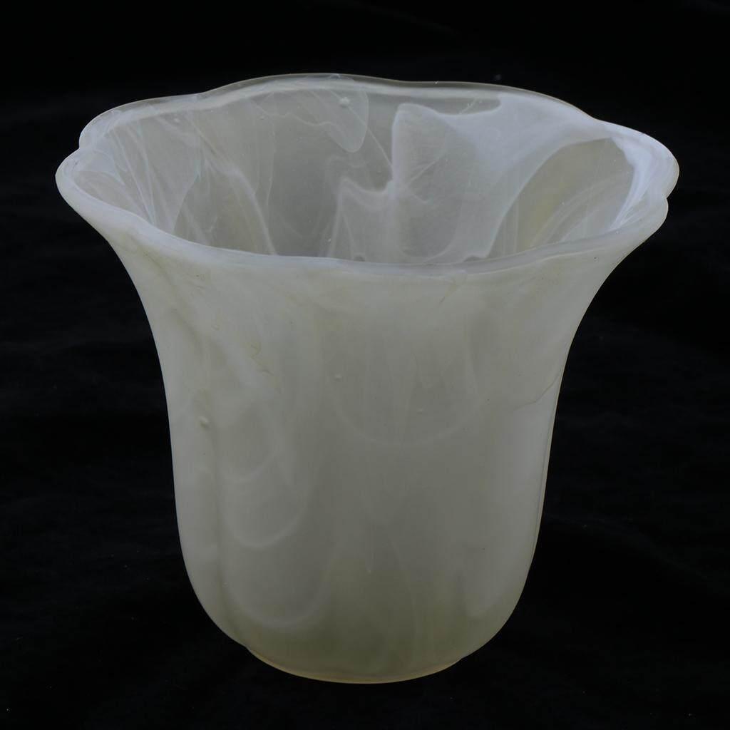 BolehDeals White Translucent Glass Lamp Shade for Ceiling Fan Light