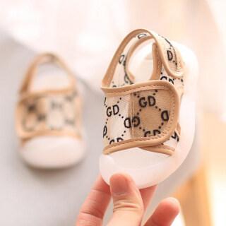 Trẻ Em Giày, Xăng Đan Chống Đá Mới 2021 Giày Cho Bé Gái Bé Trai Trẻ Sơ Sinh Thủy Triều Thời Trang Đế Mềm 0-1-2 Tuổi thumbnail