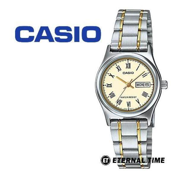 (2 YEARS WARRANTY) CASIO ORIGINAL LTP-V006SG-9B STANDARD ANALOG-LADIES WATCH (LTP-V006SG)  (JAM TANGAN WANITA / JAM TANGAN PEREMPUAN / CASIO WATCH / CASIO WATCH WOMEN / WATCH FOR WOMEN) Malaysia