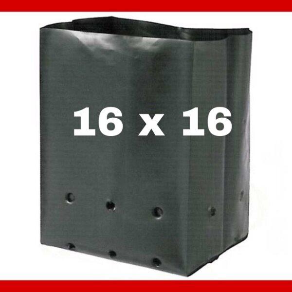 [1 KG] Black Polybag UV Thick Fertigasi Polibag Hitam Poly bag Polibeg Polybeg
