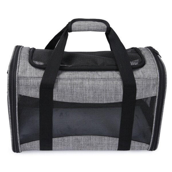 Pet Travel Carrier Soft Sided Portable Bag for Cats, Small Dogs, Puppies, Collapsible, Durable, Travel Friendly
