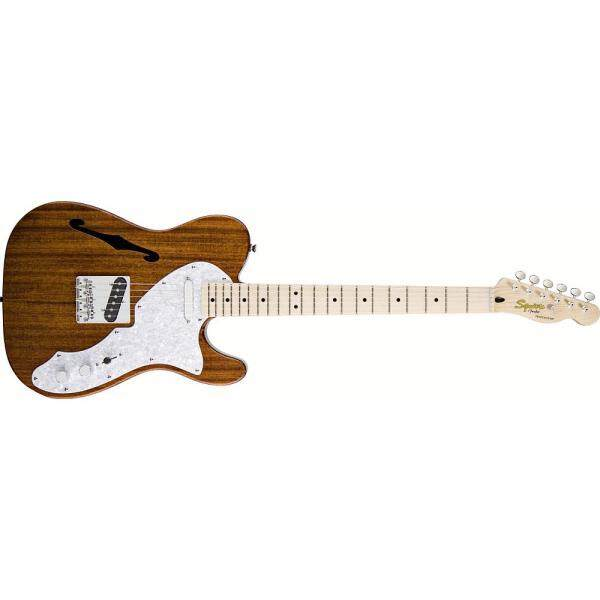 Squier Classic Vibe Telecaster Thinline Guitar, Maple Neck, Natural Malaysia