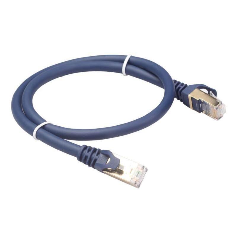 Bảng giá Cat8 Cáp Dù SFTP 40Gbps Siêu Tốc Độ RJ45 Mạng LAN Miếng Dán Cáp Phong Vũ