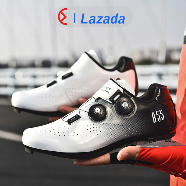 Cycling Shoes road bike white Cycling Shoes for men Cycling Shoes rb Cycling Shoes road bike cleats Korean Trend Fashion Superior Quality Self-locking Professional Breathable Big Size 36-46