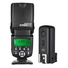 Andoer AD560 IV 2.4G Không Dây Phổ Biến Trên Máy Ảnh Slave Speedlite Đèn Flash GN50 Với Kích Hoạt Đèn Flash Cho Canon Nikon Cho Sony A7/ A7 II/ A7S/ A7R/ A7S II Máy Ảnh DSLR