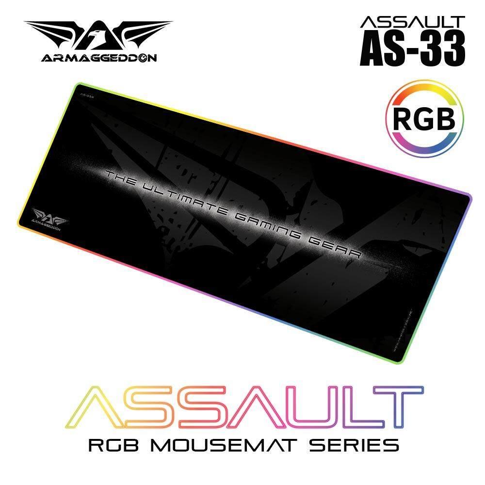 Armaggeddon Assault AS33 RGB Gaming Mouse Pad ( 33  ) Malaysia