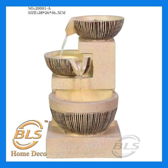 MEDIUM WATER FOUNTAIN HEIGHT FENG SHUI HOME DECORATION 20001-A