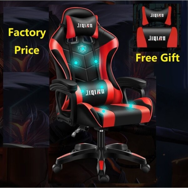 【SPOT HOT SALE】 New 2021 [Factory Promotion] Adjustable Ergonomic Gaming Chair Office Chair with Massage Function Malaysia