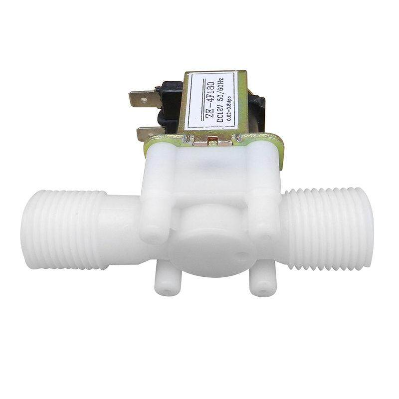 12V 1/2inch N/C Plastic Electric Solenoid Valve Magnetic Water Air Normally Closed