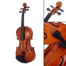 Trang Trí Gỗ Sồi Cho Người Mới Bắt Đầu Violin Tochigi Violin 4-6 Tuổi Nhựa Di Động Âm Nhạc 1/8 Violin Chơi Bền