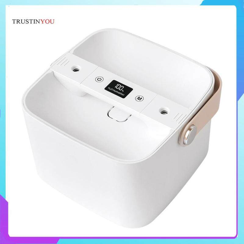 Household Air Humidifier Double Spray Nozzle Ultrasonic Essential Oil Aroma Diffuser with Handle Singapore