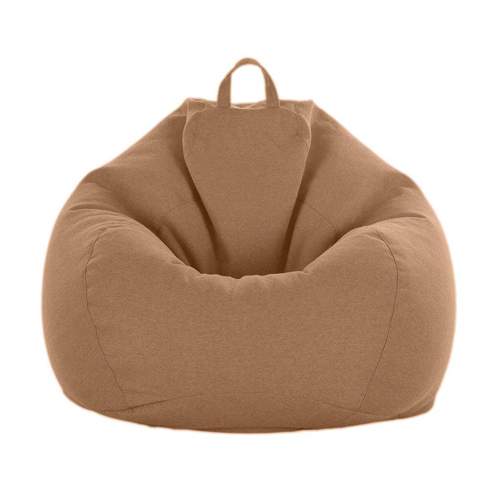 Perfk L Bean Bag Cover without Filling Comfy Chair Comfortable Seating for Adults
