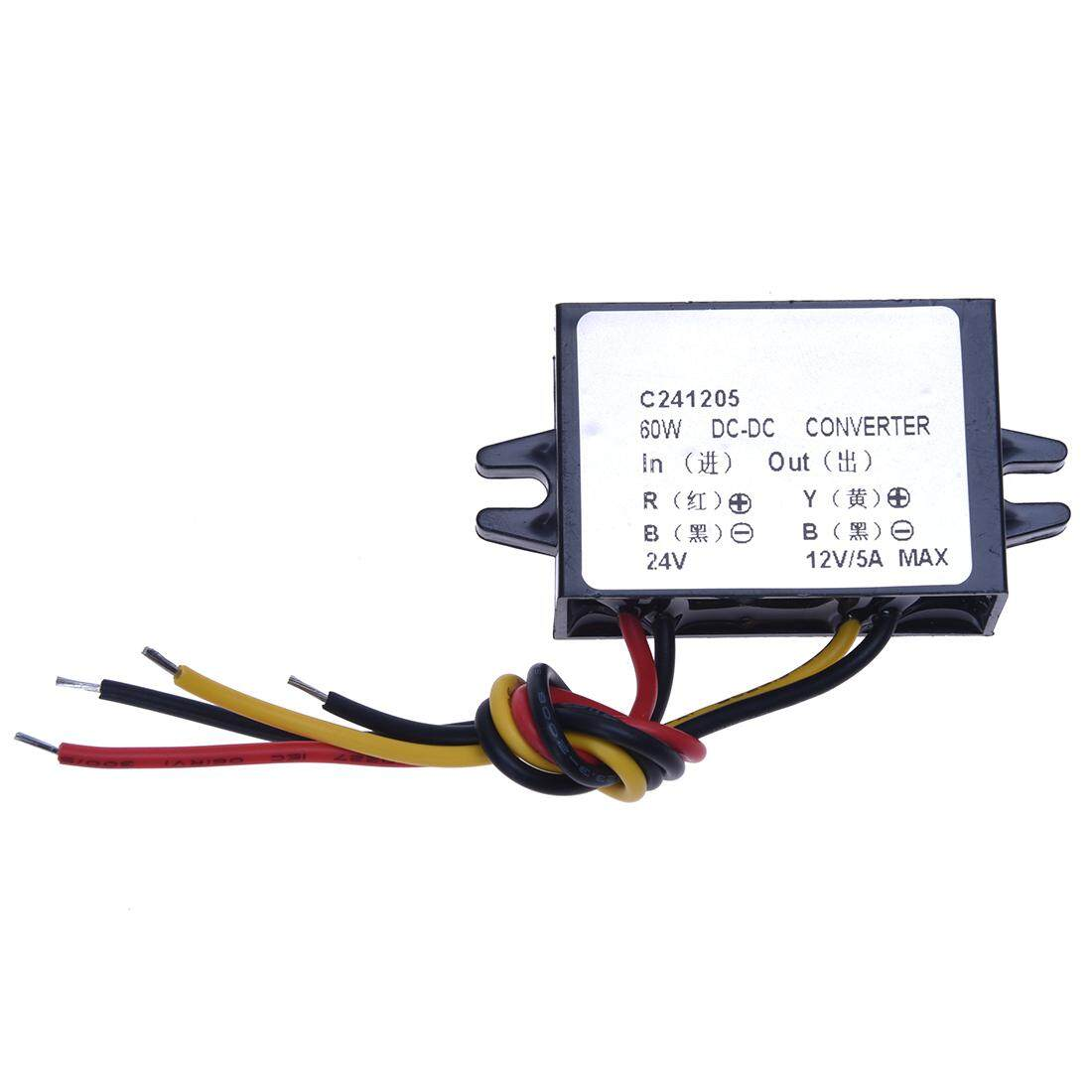 Dc / Dc Converters Electric Buck Converter 24v To 12v 60w 5a Step-Down Module Car Power Supply Voltage By Sunnny2015.
