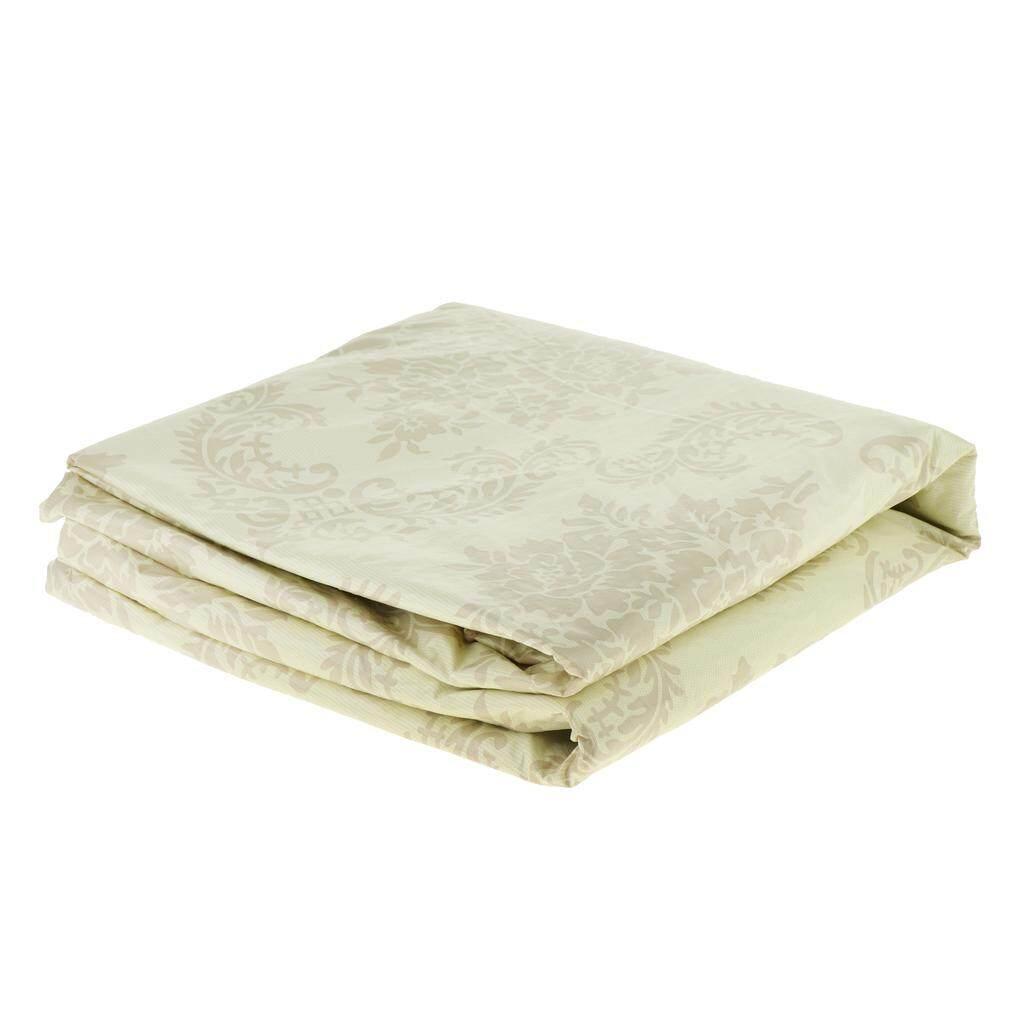 BolehDeals Pvc Plastic Round Tablecloth Flower Pattern 150cm Table Cover