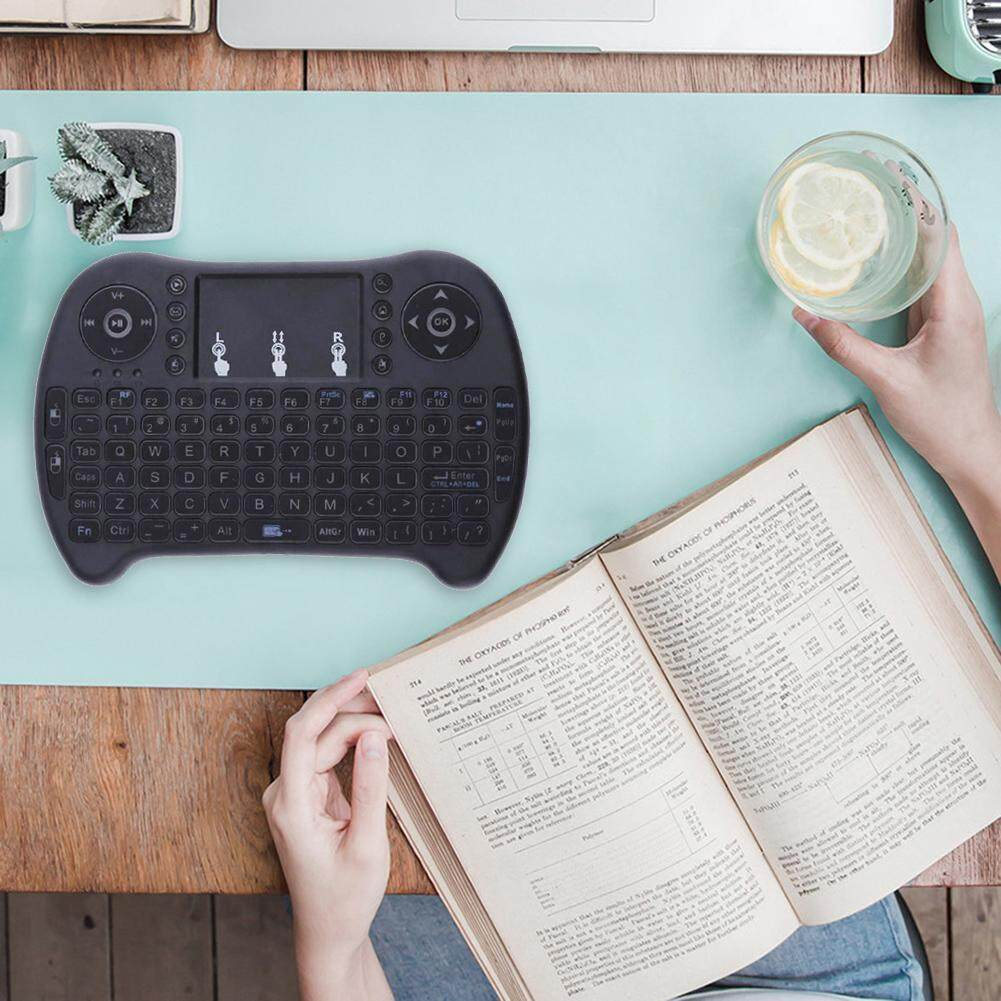 [Bside Tool Store] 2.4G Mini Wireless Keyboard Touch Pad Fly Air Mouse of Raspberry PI B+Plus