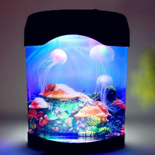 Đèn Tâm Trạng Bơi Lội Trên Biển Bể Sứa Đèn LED Ban Đêm Bể Cá Nhiều Màu, Trẻ Em Của Đèn, Trang Trí Đèn