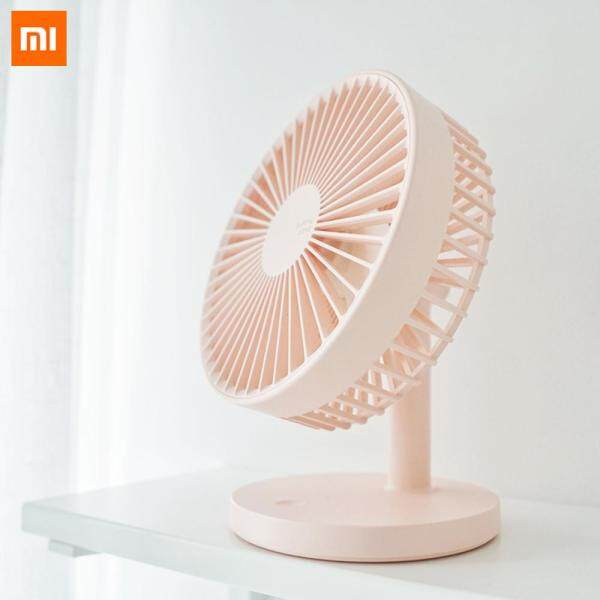 Xiaomi 3Life 202 Desktop Mute Fan USB Charging Mini Portable Handheld Fan 2000mAh Battery Capacity Low Noise Strong Wind