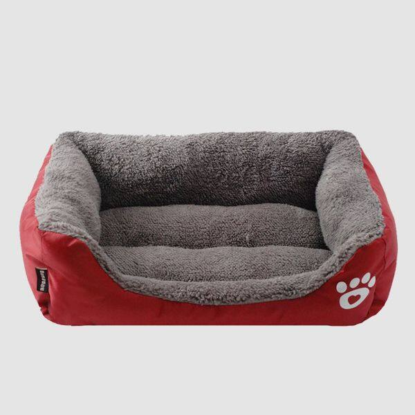 Mèo Nhỏ Chó Con Giường Bông Mềm Chó Giường Động Vật Nhà Mat Pad Mèo Thỏ Sofa Cuddler Kennel Pad