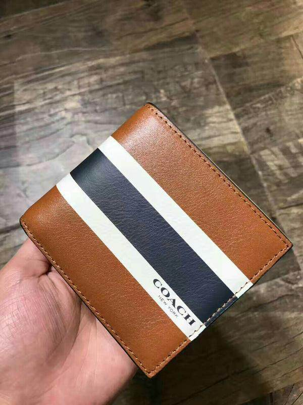coach75086 can be split two men's leather wallet 15020086