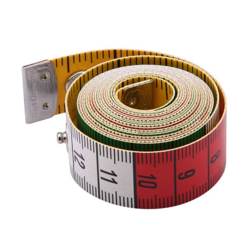 Tailor Của Đức Chất Lượng Mềm Mại Với Snap Ốc Vít Cơ Thể Phẳng Đo Thước Công Cụ May Tailor Tape Meter
