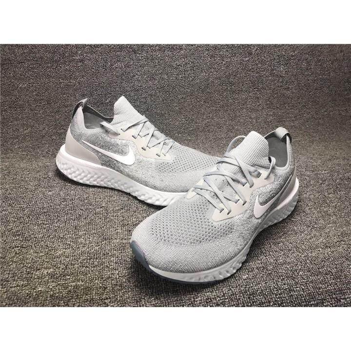 6c19d00981f NIKE EPIC REACT FLYKNIT AQ0070 002 Running Shoes Men Shoes 36-45 ...